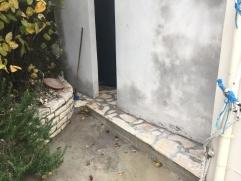 Repair to subsiding boiler room