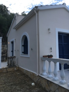 Newly painted house